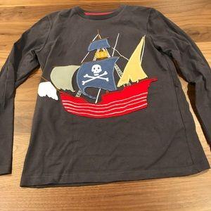NWOT size 9 Mini Boden Pirate shirt